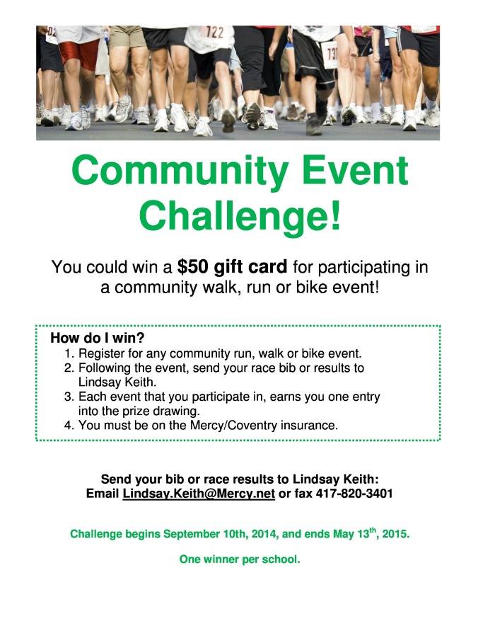 Community Event Challenge Flyer 2014&15