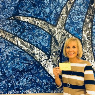 Montene Staley won an 8 class punch card to Monkey Fitness.
